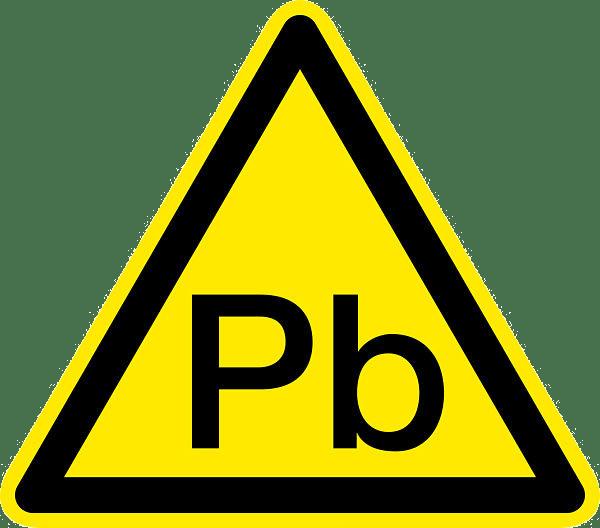 Signalisation d'un danger lié au plomb