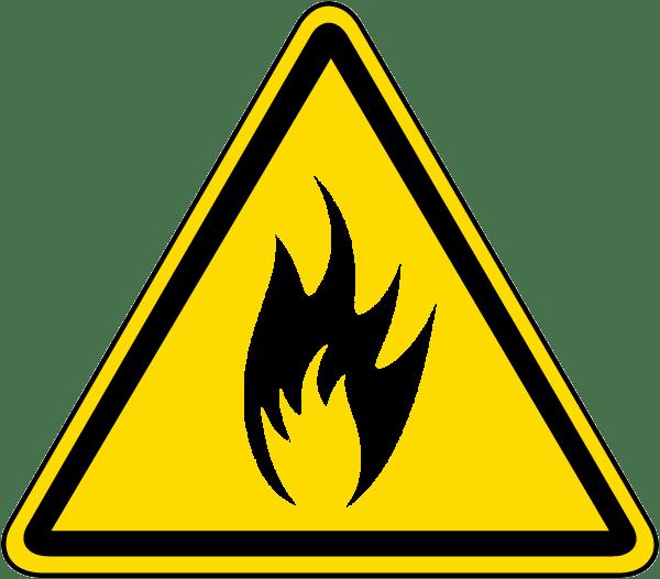 Signalisation d'un risque d'incendie